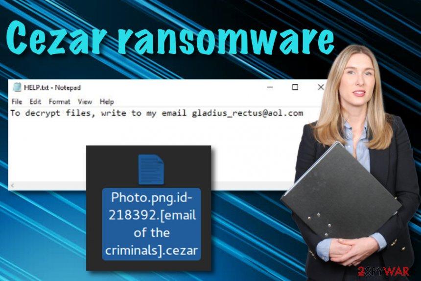 Cezar ransomware