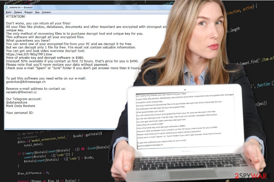 Cezor ransomware virus