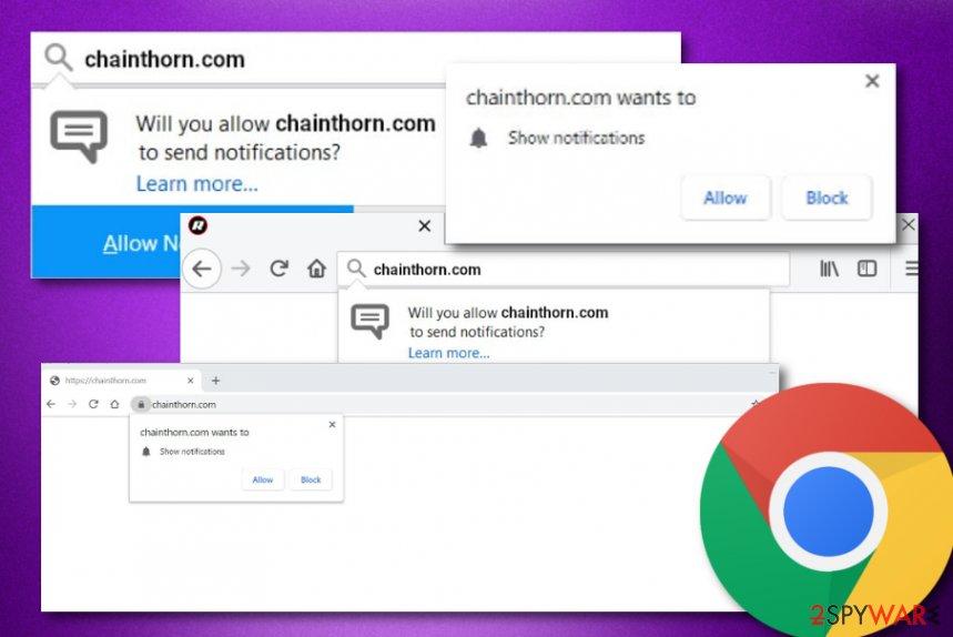 Chainthorn.com adware program