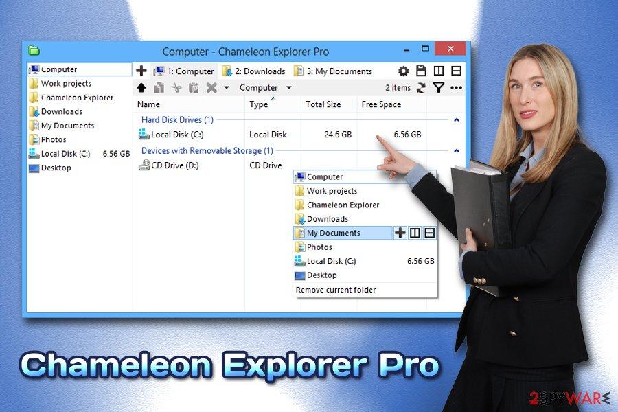 ChameleonExplorer Pro adware