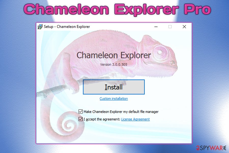 ChameleonExplorer Pro virus