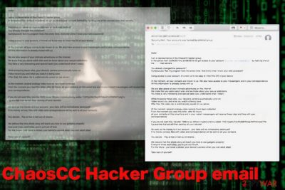 ChaosCC Hacker Group email