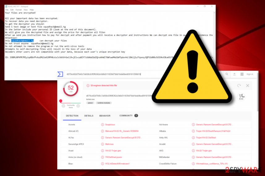 Chch ransomware virus