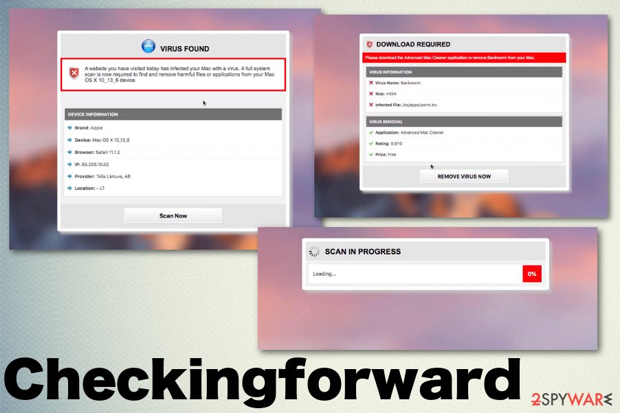Checkingforward