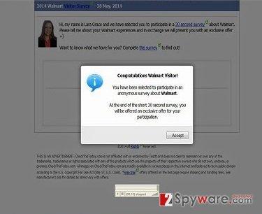 Updated-Browser.net pop-up virus snapshot