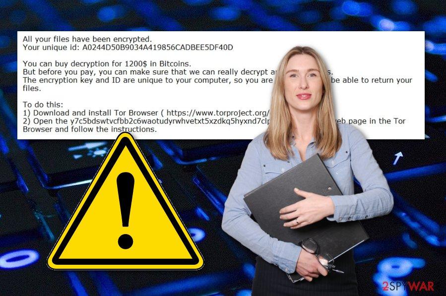 Chekyshka ransomware virus