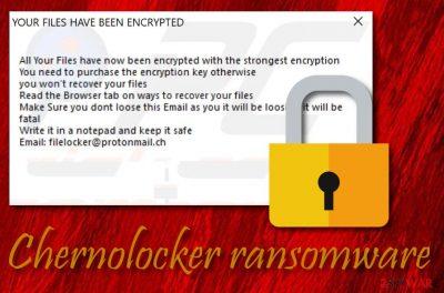 ChernoLocker ransomware virus