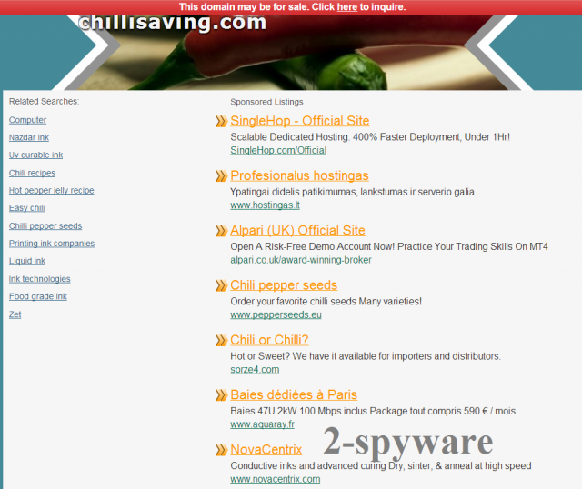Chillisaving.com snapshot