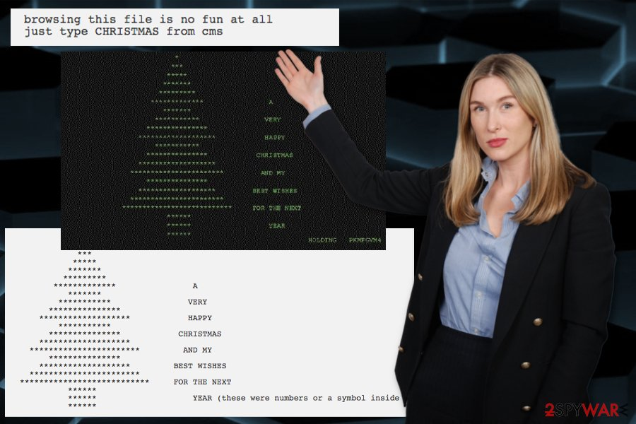 Christmas tree malware