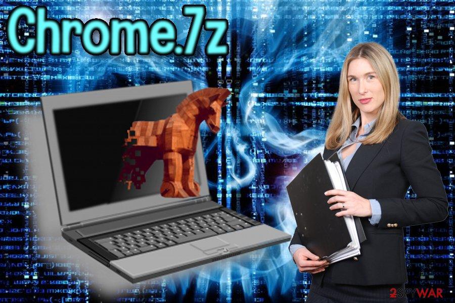 Chrome.7z trojan