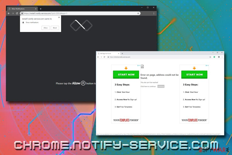 Chrome.notify-service.com virus
