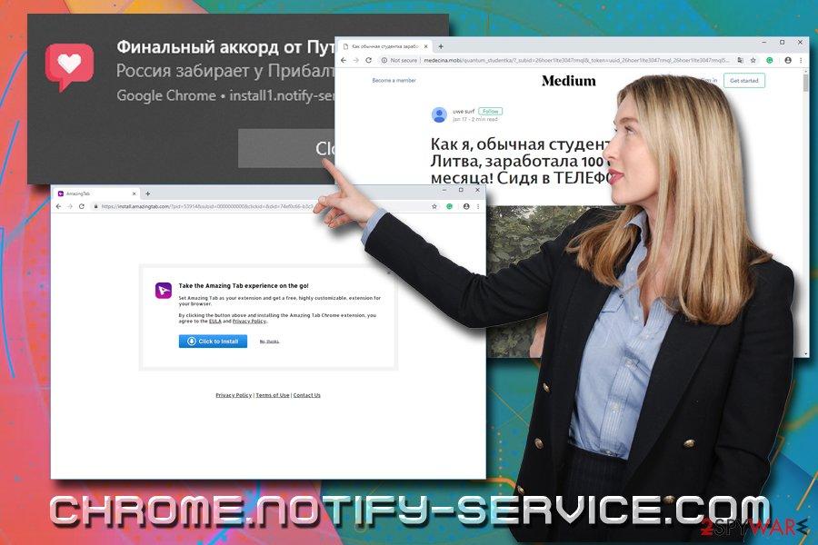 Chrome.notify-service.com pop-ups