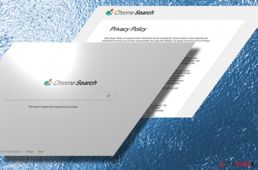 The image of Chromesearch.today hijacker