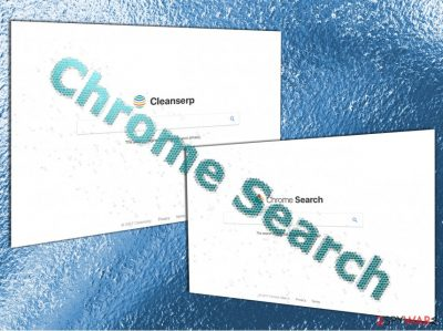 The appearance of Chrome Search Tool
