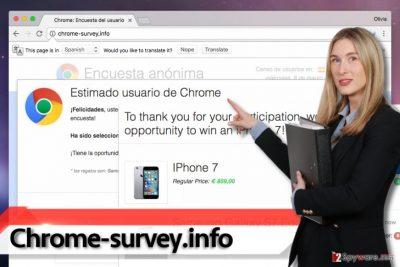Chrome-survey.info virus