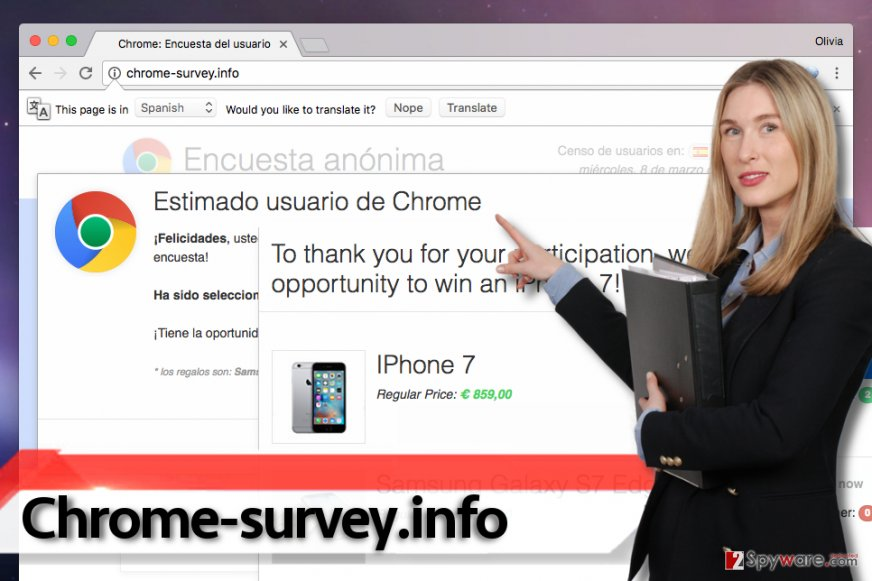 Chrome-survey.info virus