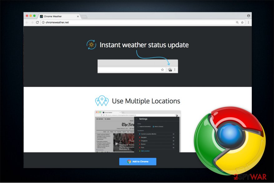 Chrome Weather image