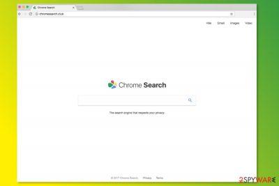 ChromeSearch.club homepage