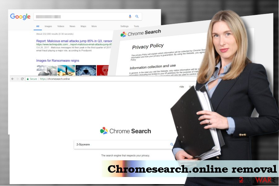 Chromesearch.online virus removal