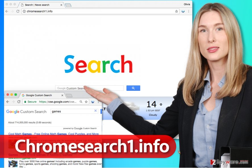 Chromesearch1.info virus exposed