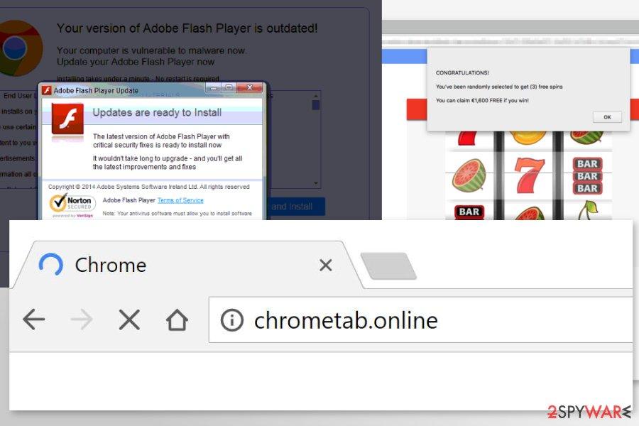 Image of Chrometab.online virus