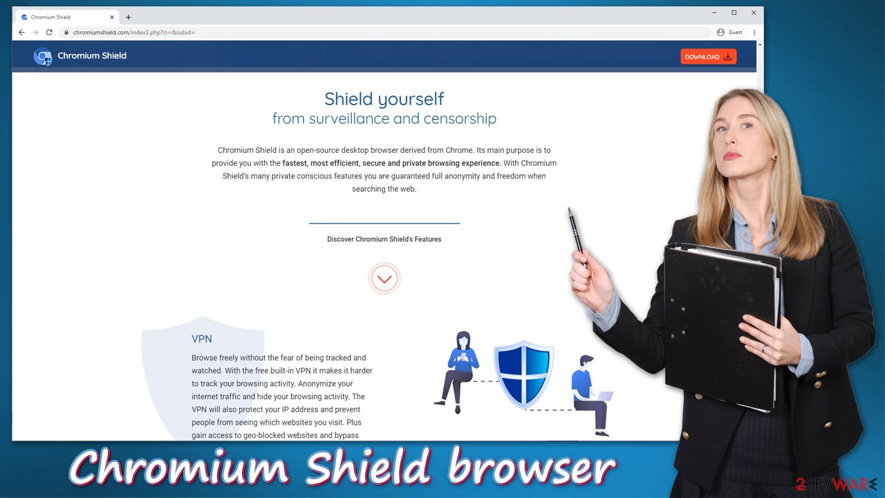 Chromium Shield browser adware