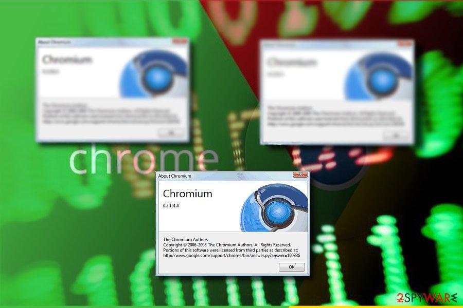 The image displaying Chromium