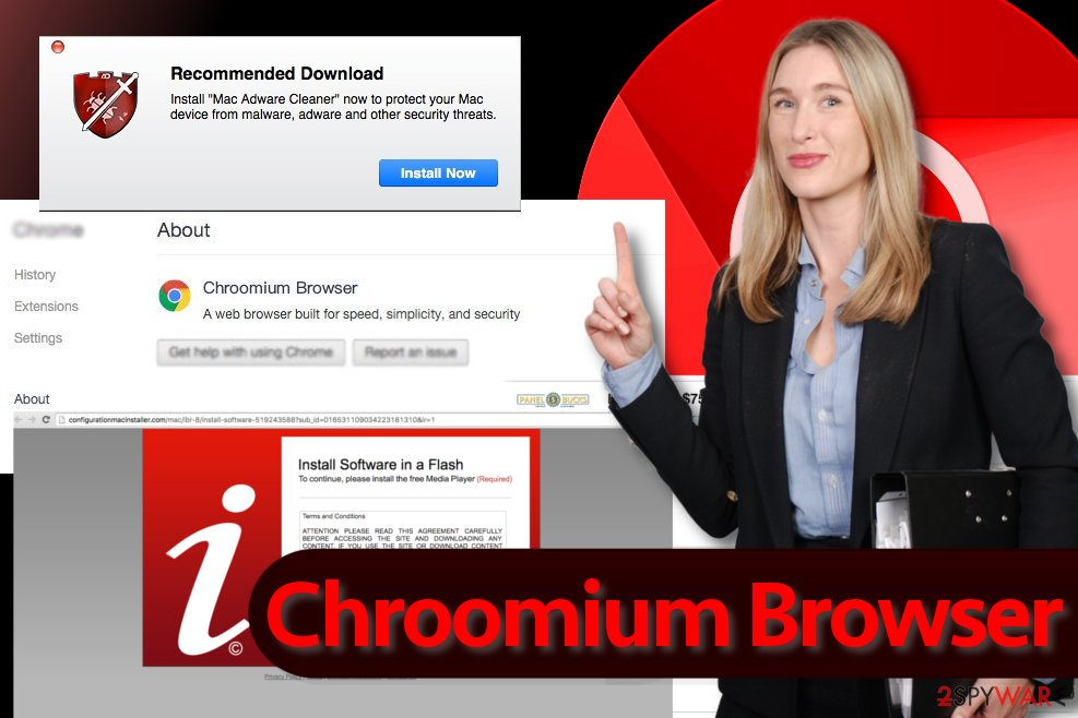 Chroomium Browser illustration