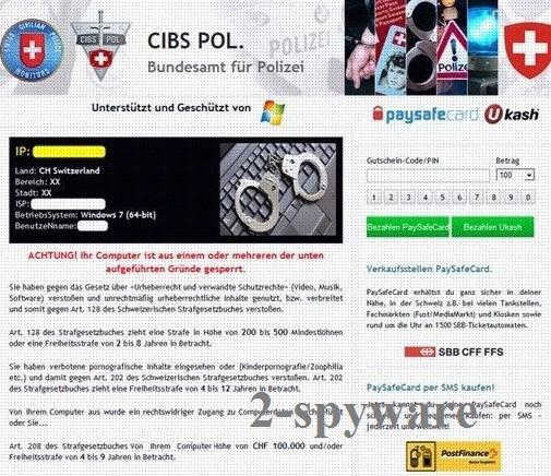 CIBS POL virus snapshot