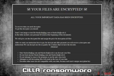CILLA ransomware