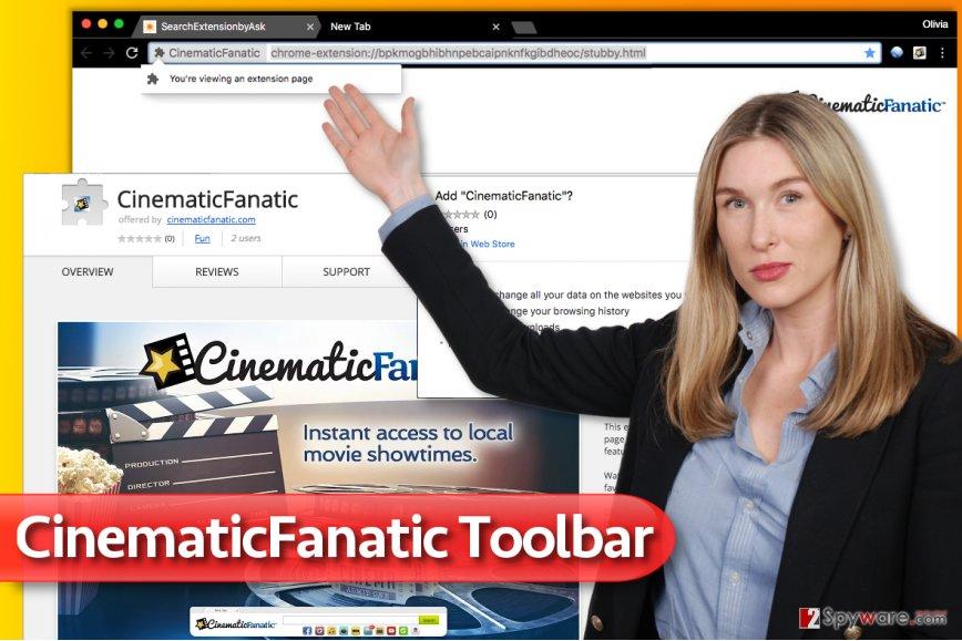 CinematicFanatic Toolbar screenshot