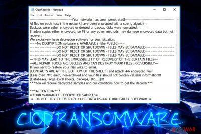 Ciop ransomware