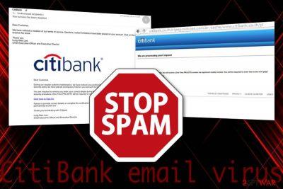 CitiBank email malware