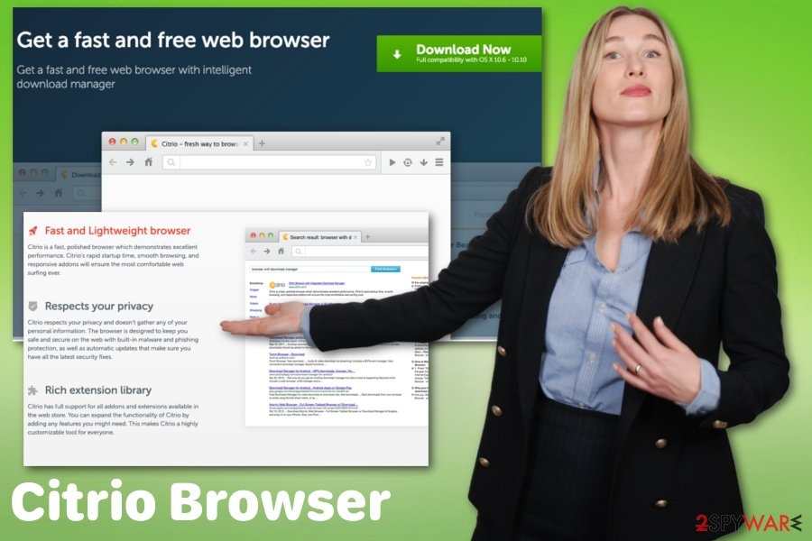 Citrio Browser adware