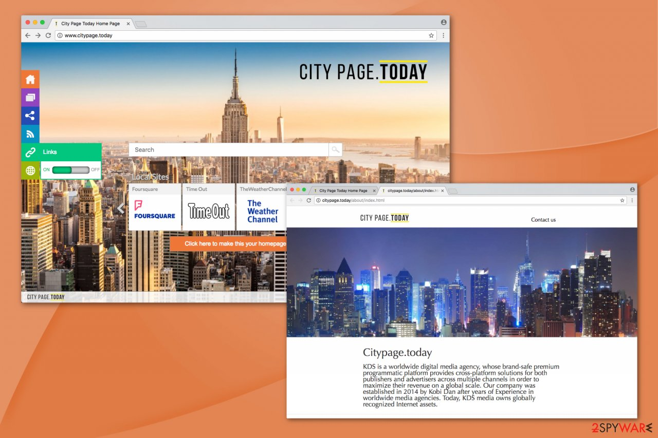 Citypage.today illustration