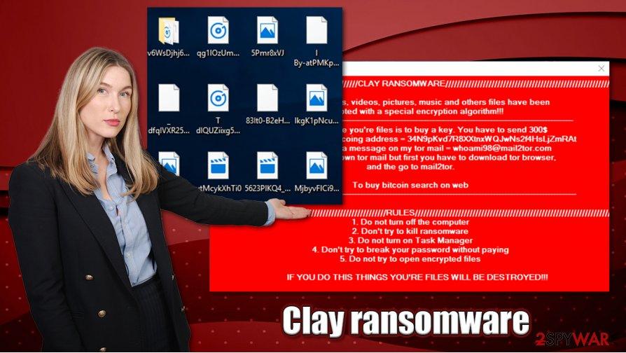 Clay ransomware virus