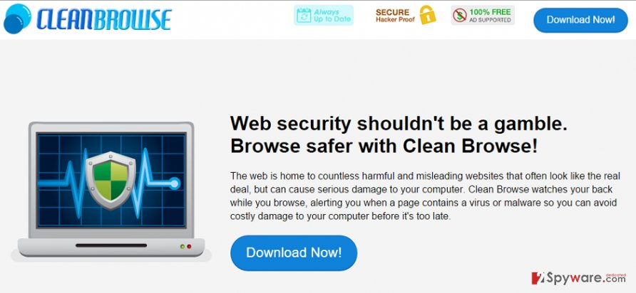 Clean Browse ads