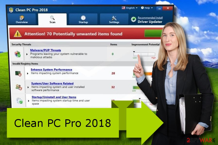 Clean PC Pro 2018 unreliable fixing program
