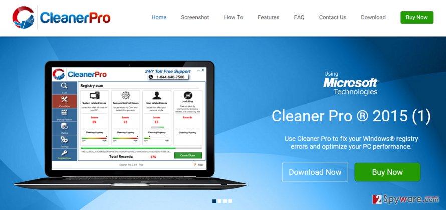 Cleaner Pro virus