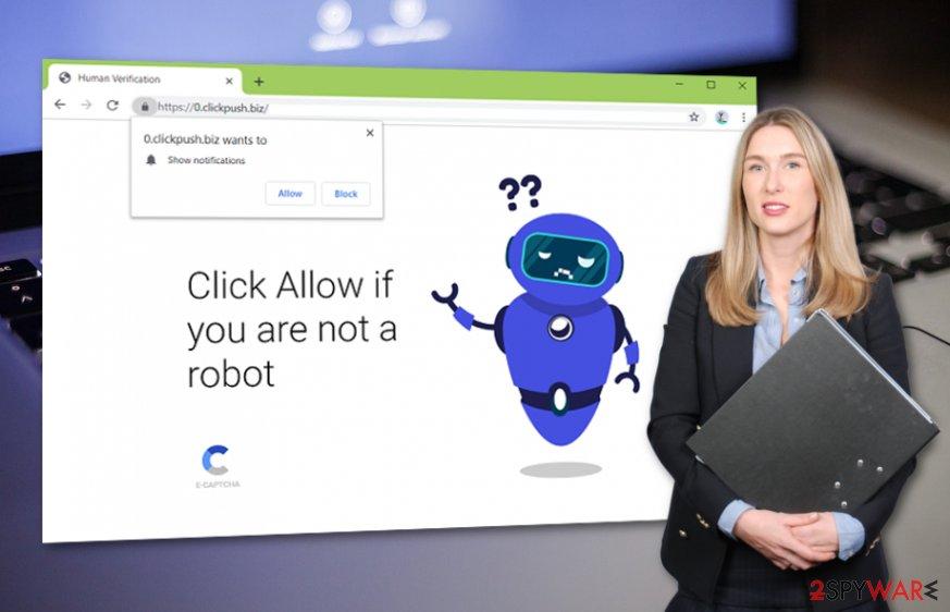 Clickpush.biz virus