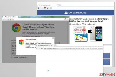 Image of Clicknshare.net virus