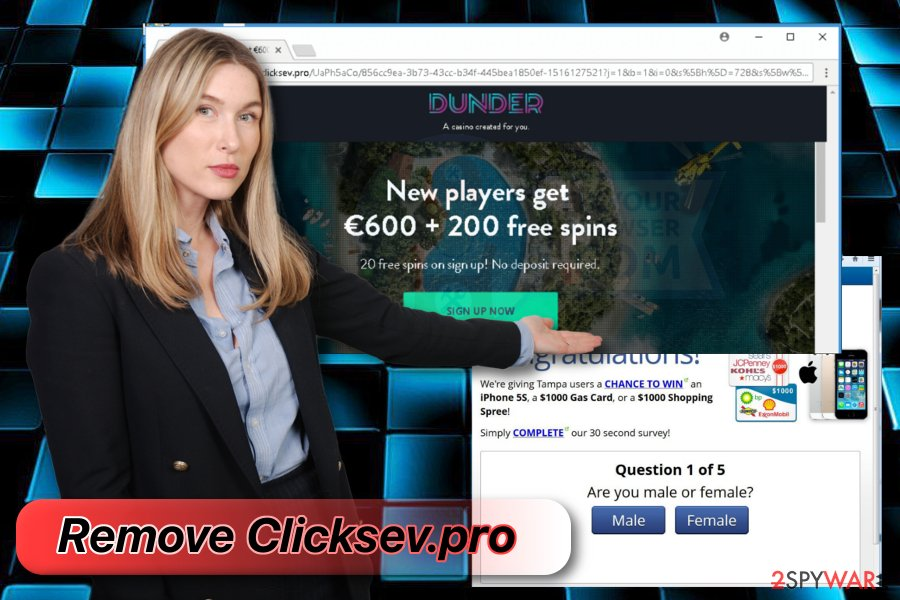 Clicksev.pro removal