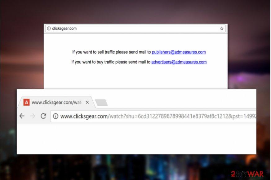 Clicksgear.com PUP