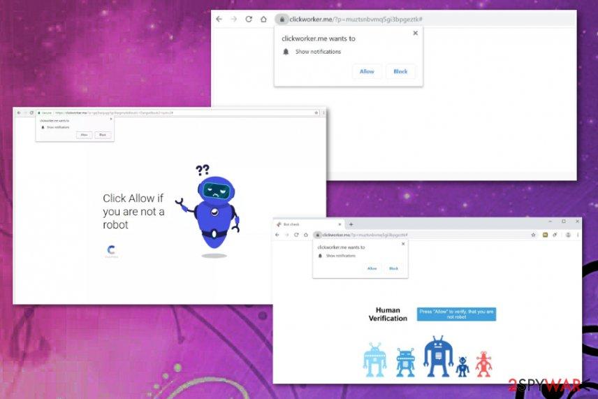 Clickworker.me virus