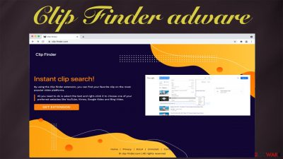 Clip Finder adware
