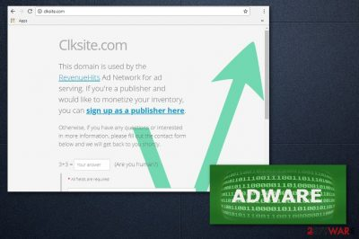 Clksite.com adware