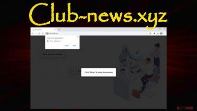 Club-news.xyz redirect