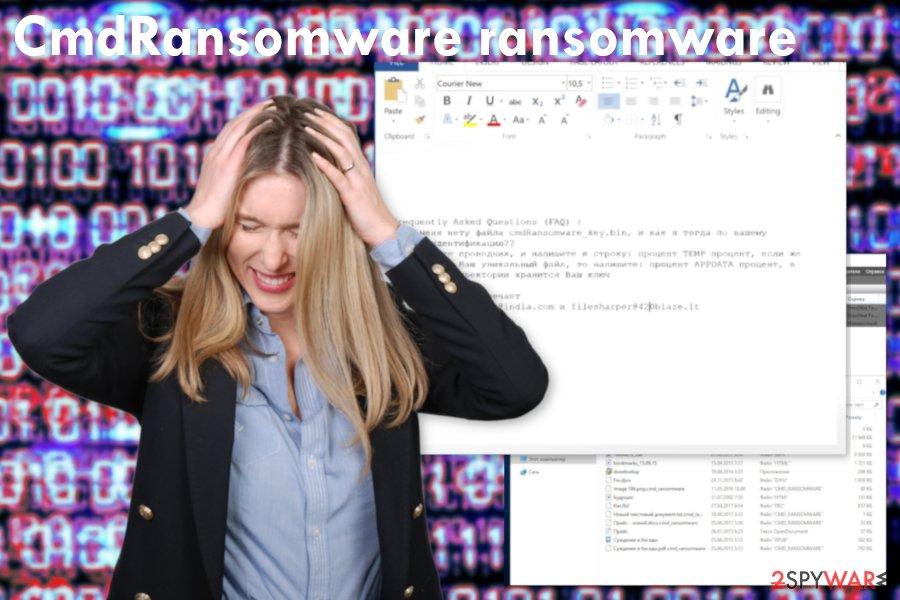 CmdRansomware virus