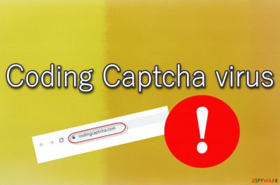 Coding Captcha virus