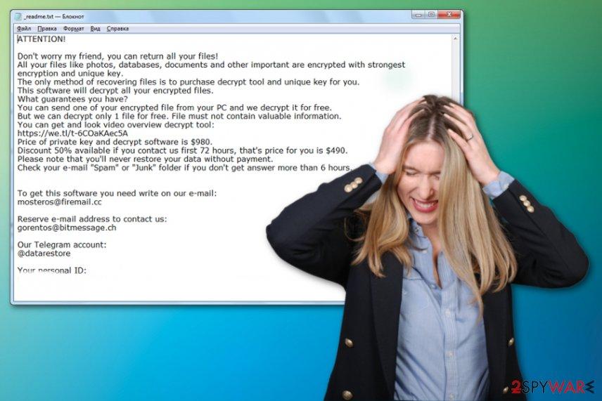 Codnat ransomware virus